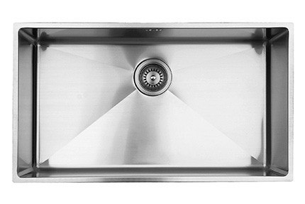 UKINOX RS710.C UNDERMOUNT SINGLE BOWL STAINLESS STEEL KITCHEN SINK WITH CUTTING BOARD