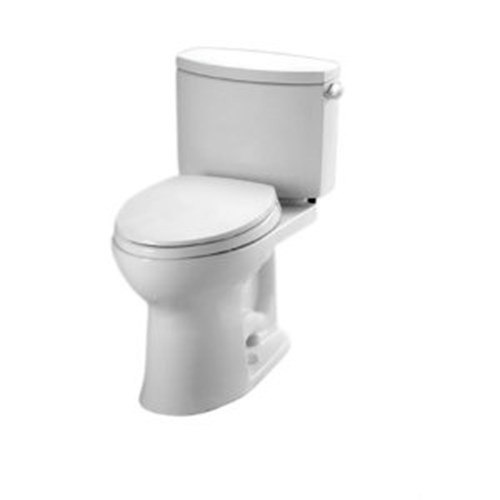 TOTO CST454CEFRG#01 DRAKE II TWO-PIECE TOILET, 1.28 GPF WITH RIGHT-HAND TANK