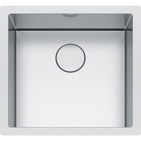 FRANKE PS2X110-18 PROFESSIONAL 2.0 SERIES 20-1/2 INCH UNDERMOUNT SINGLE BOWL STAINLESS STEEL SINK 16-GAUGE