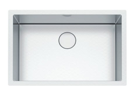 Franke PS2X110-30-12 Professional 2.0 Series 32-1/2 Inch Undermount Single Bowl Stainless Steel Sink, 16-Gauge