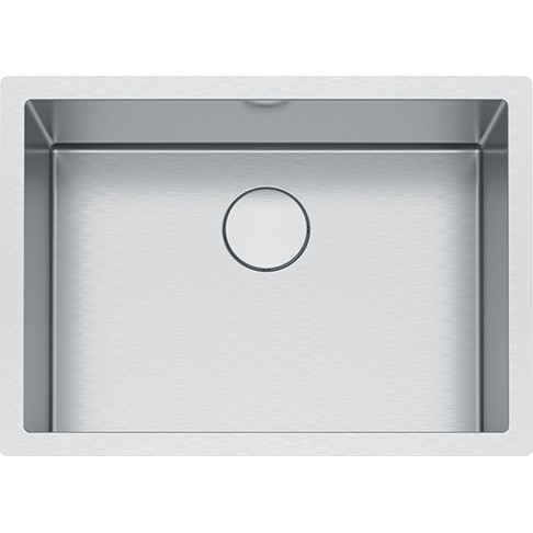 FRANKE PS2X110-24-12 PROFESSIONAL 2.0 SERIES 26-1/2 INCH UNDERMOUNT SINGLE BOWL STAINLESS STEEL SINK 16-GAUGE