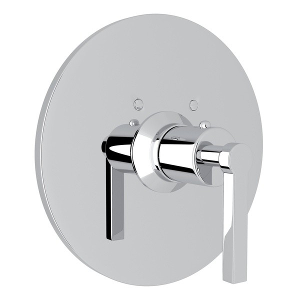 ROHL A4214LM AVANTI THERMOSTATIC TRIM PLATE WITHOUT VOLUME CONTROL, METAL LEVER