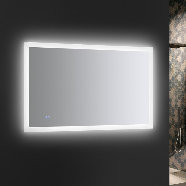 Fresca Fmr014830 Angelo 48 X 30 Inch Tall Bathroom Mirror With Halo