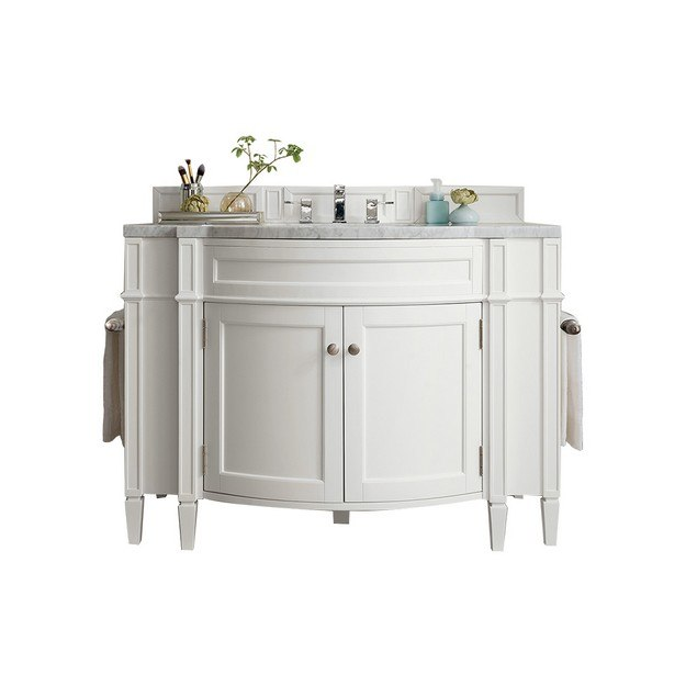 James Martin 650 V46 Cwh Brittany 46 Inch Single Vanity In Cottage White