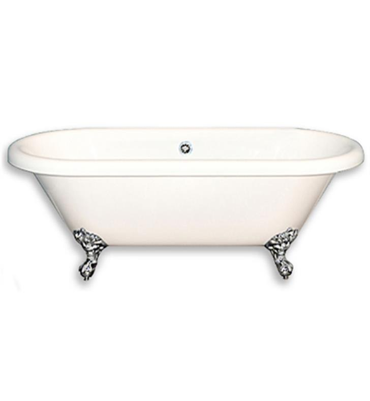 Cambridge Plumbing ADE60-NH-CP 60 Inch Clawfoot Double Ended Bathtub ...