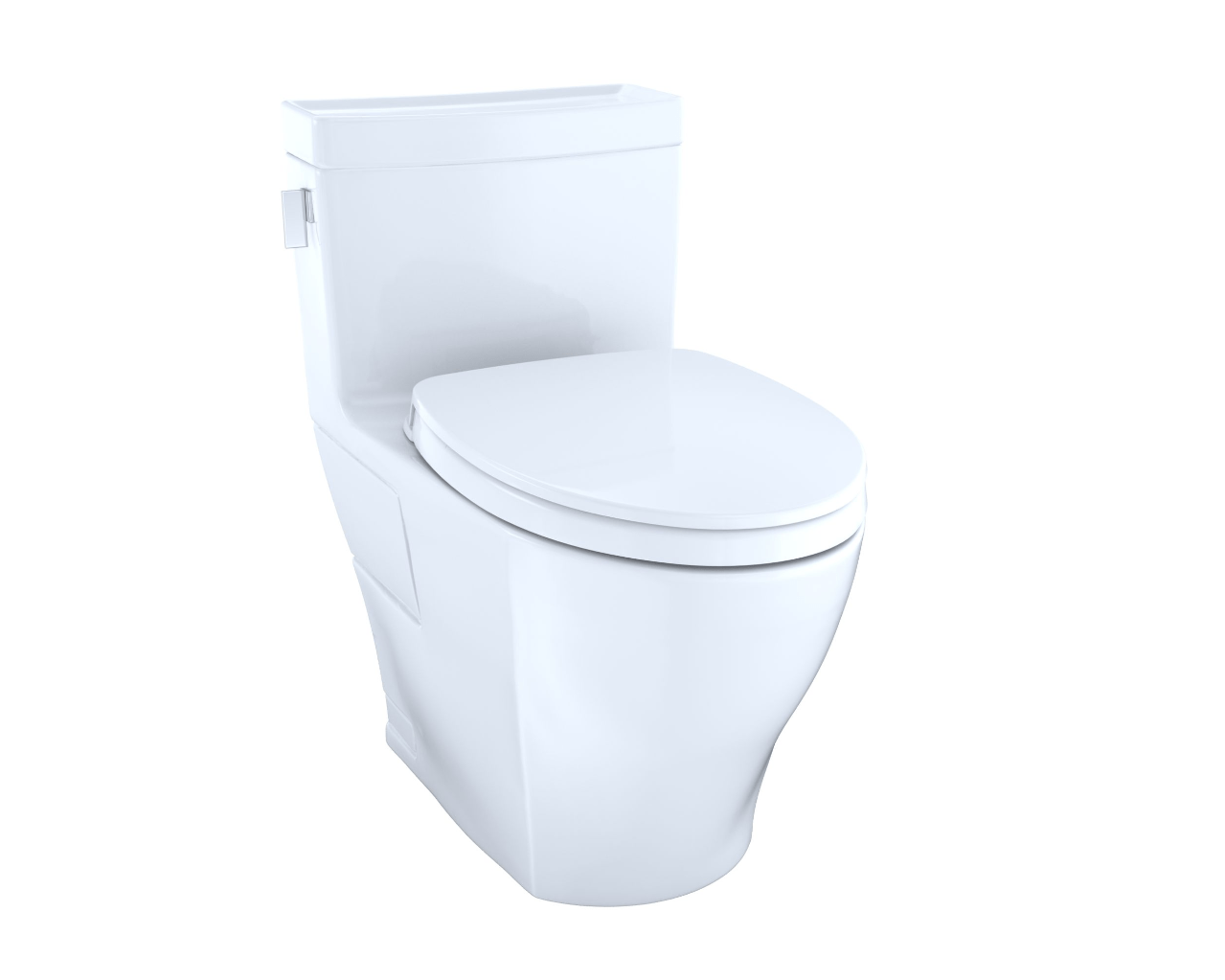Toto MW6243046CEFG#01 Legato WASHLET+ Kit One-Piece Elongated 1.28 ...