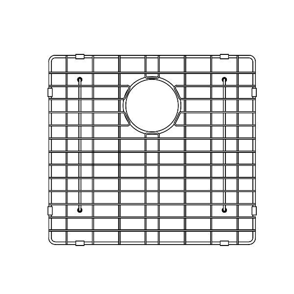 Wells Sinkware Gcs1917 Sink Bottom Grid 18 1 2 X 17 Inch