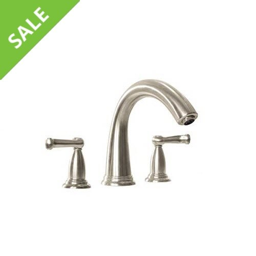 SALE! Hansgrohe 06121820 Trim, Swing 3-Hole Tub Filler in Brushed Nickel
