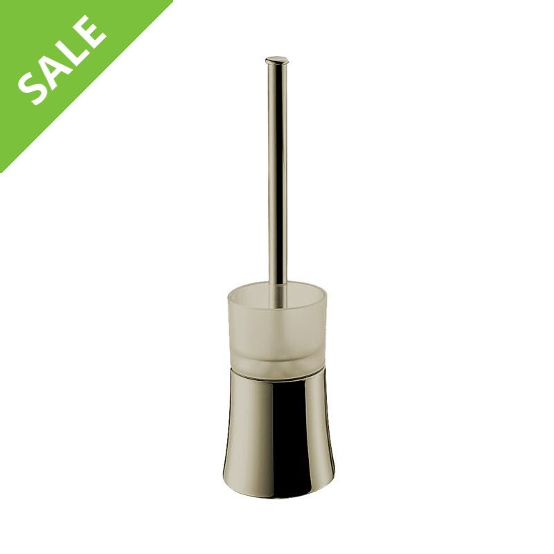 SALE! Hansgrohe 41536820 Axor Citterio Toilet Brush with Holder Floor Version in Brushed Nickel