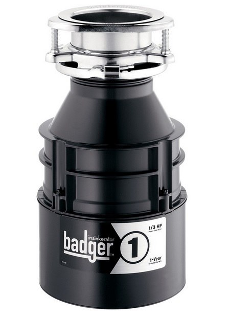 InSinkErator Badger1 1/3 HP Continuous Waste Disposer