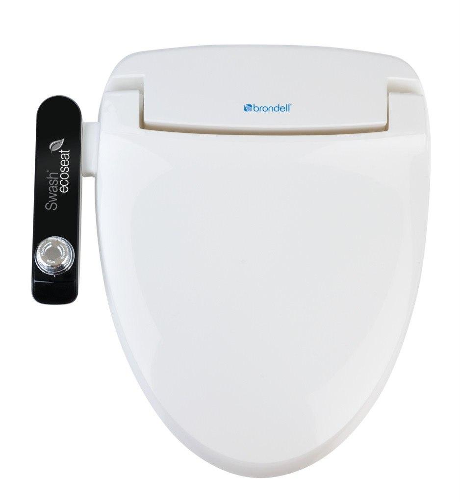 Brondell S100-EW Swash Ecoseat 100 Elongated - White