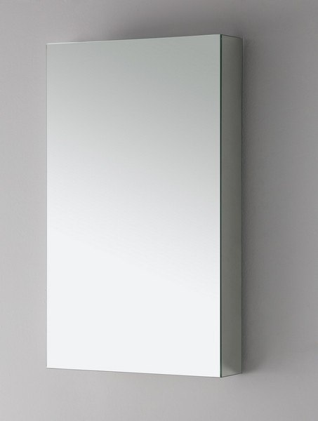 Fresca FMC8015 15 Inch Wide Bathroom Medicine Cabinet with Mirrors