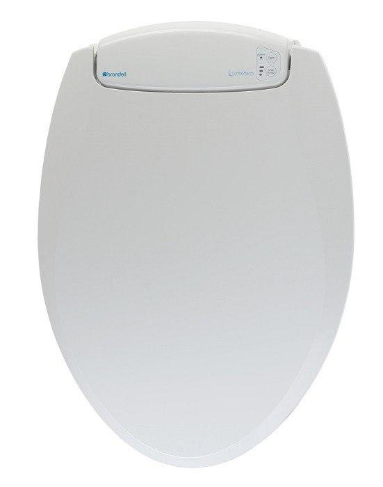 Brondell L60 LumaWarm Heated Nightlight Toilet Seat