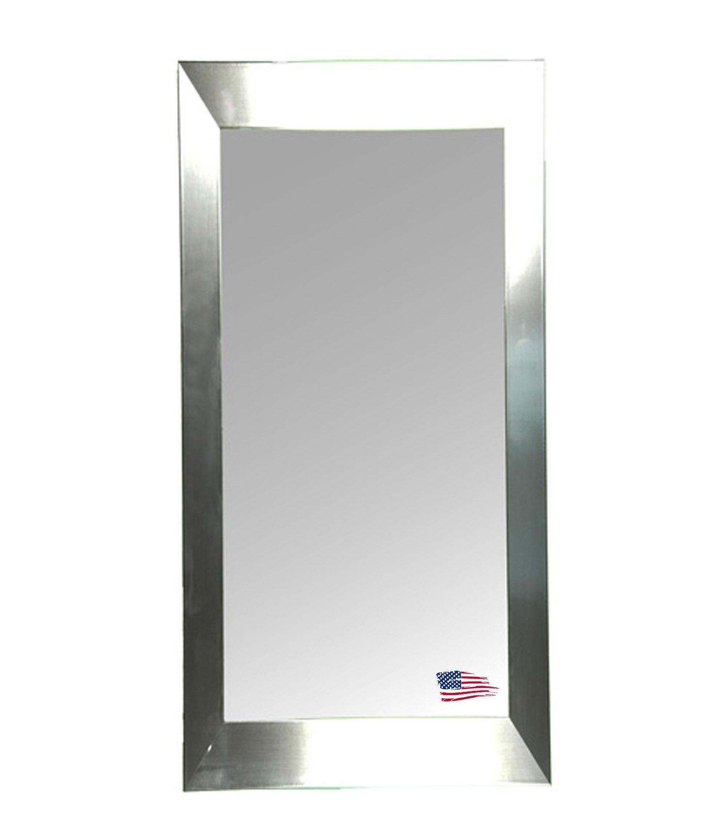 Rayne Mirrors R002T 29 x 64 Inch Silver Grande Mirror