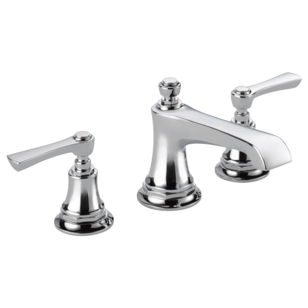 Brizo 65360LF-LHP Rook Two Handle Widespread Lavatory Faucet, Less Handles