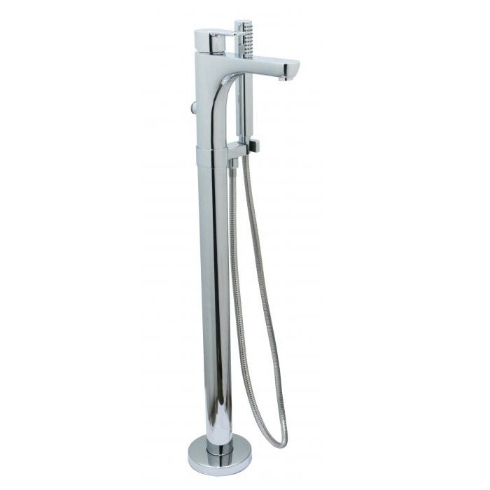 CHEVIOT 7500 EXPRESS HIGH FLOW FREE-STANDING TUB FILLER WITH HAND SHOWER