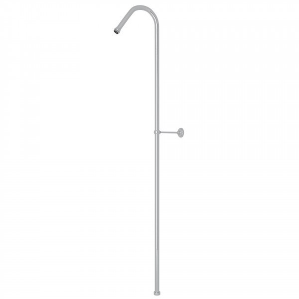 ROHL U.5382 PERRIN & ROWE 63 X 8 INCH HOOK RISER SHOWER OUTLET