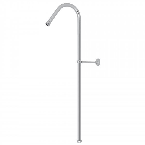 ROHL U.5392 PERRIN & ROWE 40 X 8 INCH HOOK RISER SHOWER OUTLET