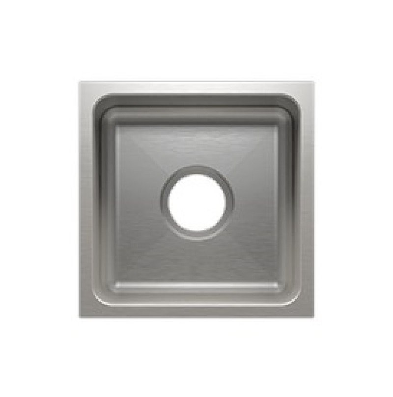 JULIEN 003212 CLASSIC 13 1/2 * 13 1/2 * 7 INCH UNDERMOUNT STAINLESS STEEL BAR SINK