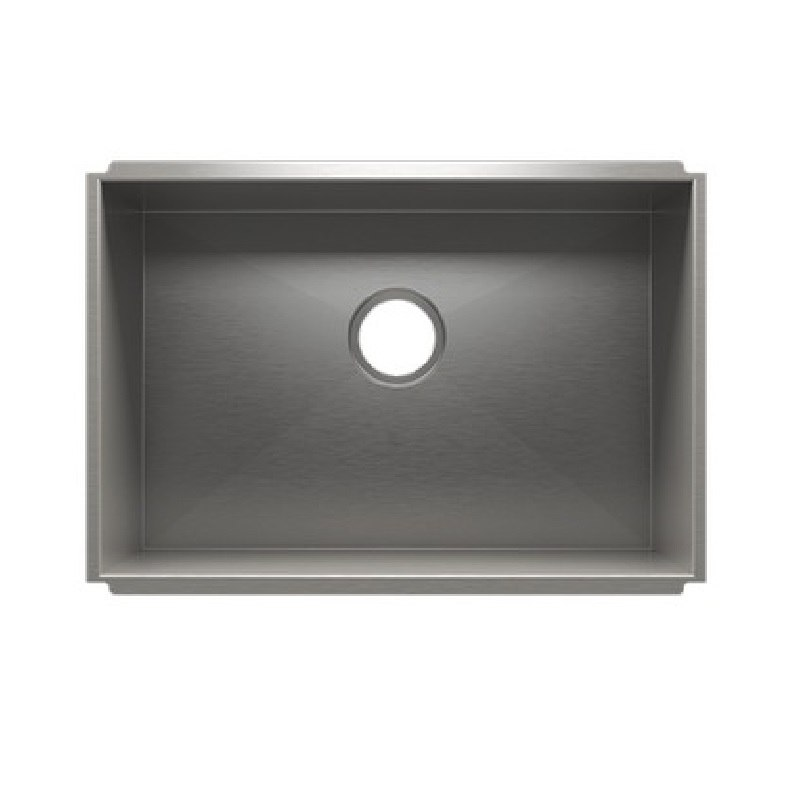 JULIEN 003674 URBANEDGE 25 1/2 * 17 1/2 * 12 INCH UNDERMOUNT STAINLESS STEEL UTILITY SINK