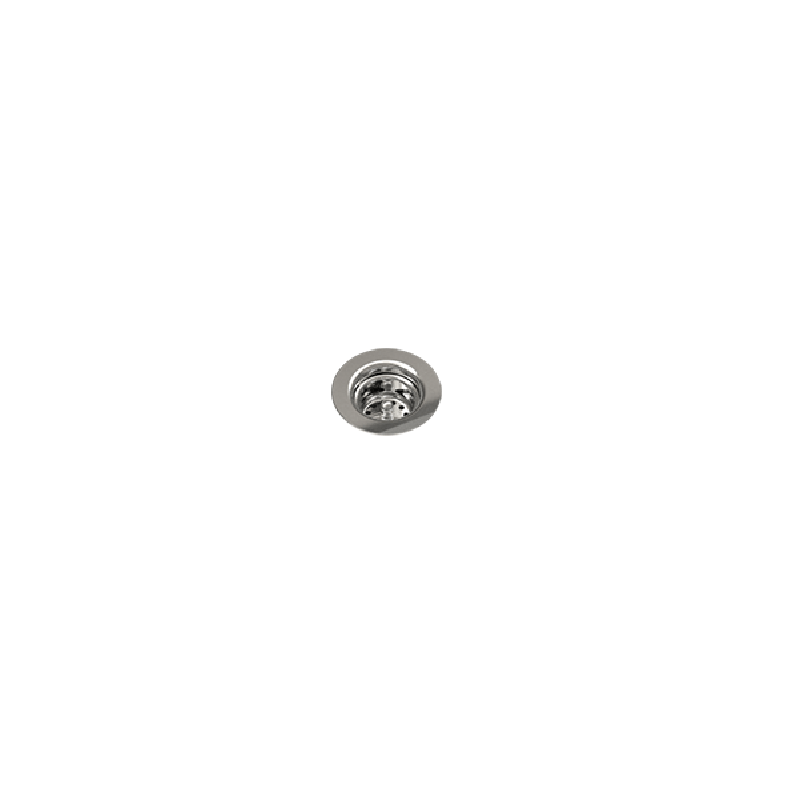 JULIEN 100086 DRAIN FOR STAINLESS STEEL SINK, 2 INCH IN POLISHED CHROME