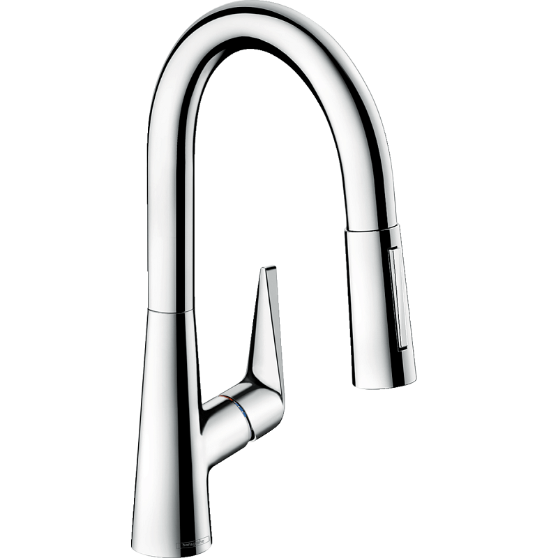 HANSGROHE 72815 TALIS S 2-SPRAY PULL-OUT PREP FAUCET