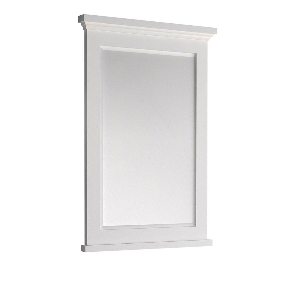 Fresca Fmr2424whm Windsor 24 Inch Bathroom Mirror Matte White