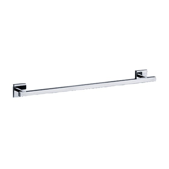 ROHL 626.00.040 JORGER EMPIRE 30 INCH WALL MOUNTED SINGLE TOWEL BAR