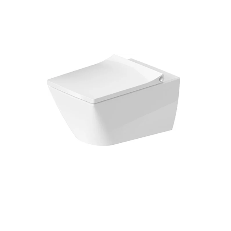 VITRA # 4 WITH OR WITHOUT SQUARE CLAW MARKS ON THE BACK WHITE TOILET TANK LID
