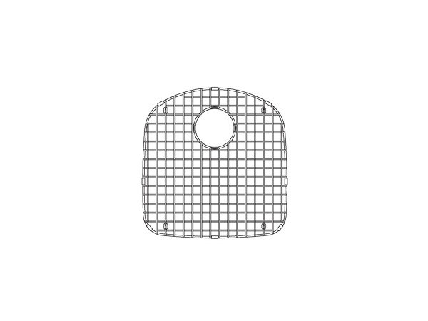 JULIEN IE-G-1718 PROINOX E-G 16-1/5 X 16-7/8 INCH STAINLESS STEEL GRID