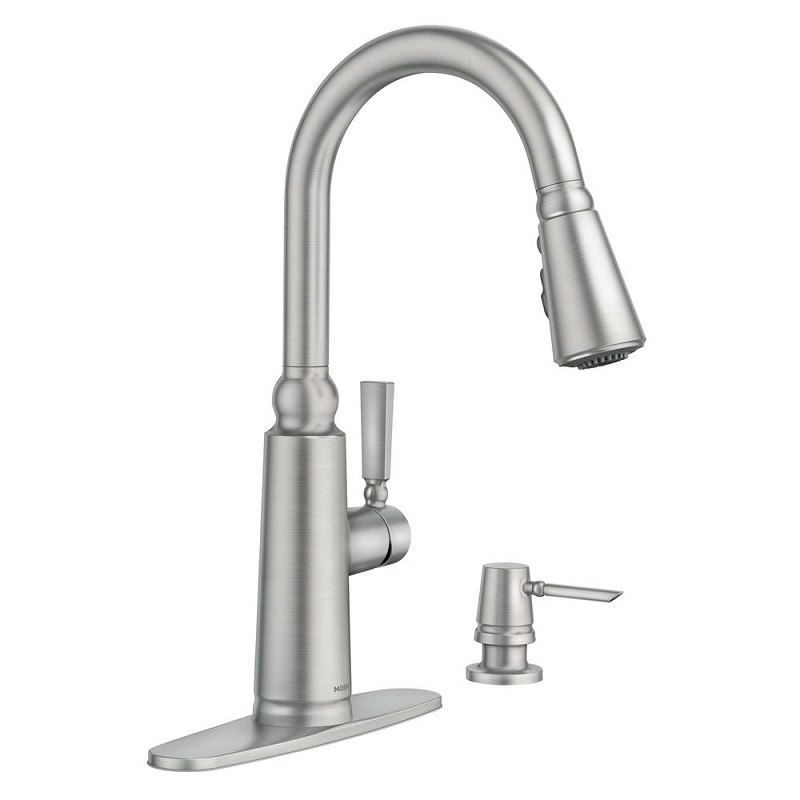 Moen 87997 Coretta Pull-Down Kitchen Faucet With Power Boost