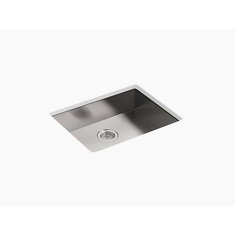 Kohler K-3894-Na Vault 24 Inch Undermount Single Basin Stainless Steel  Kitchen Sink