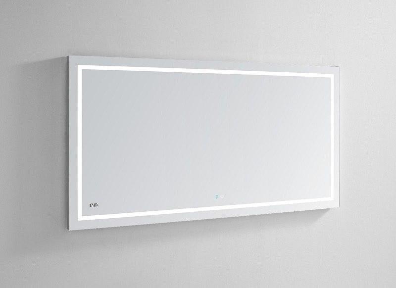48 X 36 Wall Mount Led Lighted Mirror, 36 X 48 Bathroom Mirror