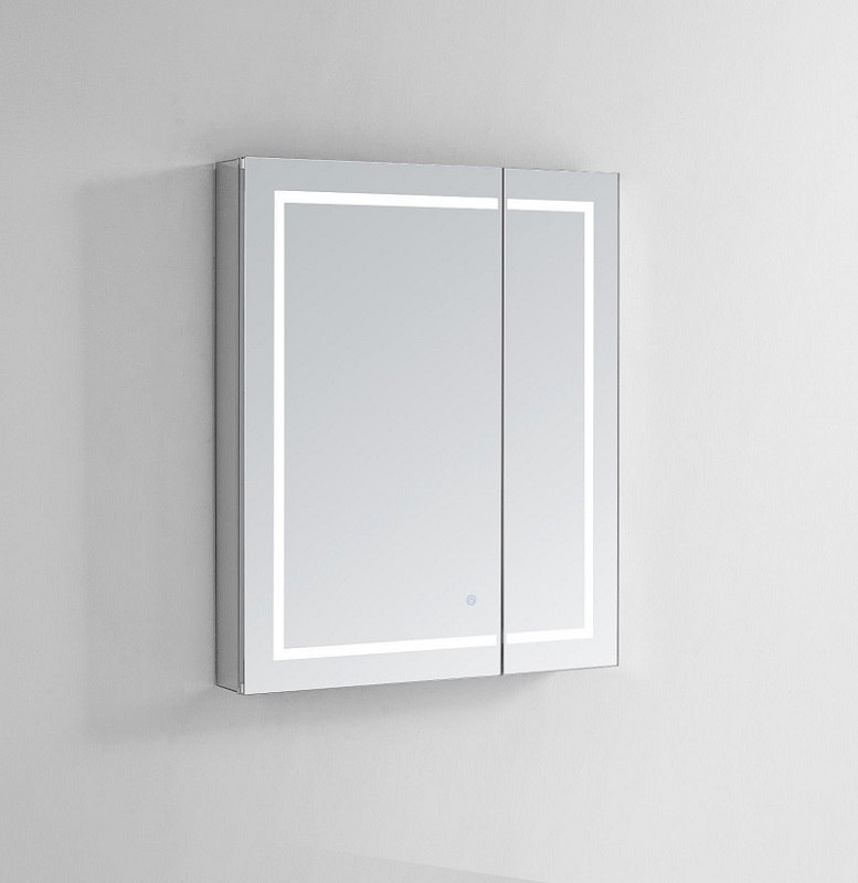 Royale Plus 36x36 Lighted Mirror Gl