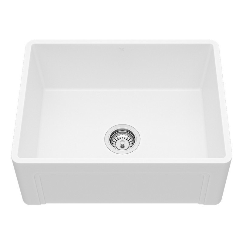 VIGO VG2918K1 29-INCH UNDER MOUNT STAINLESS STEEL 16 GAUGE DOUBLE BOWL  KITCHEN SINK, GRIDS, AND STRAINERS