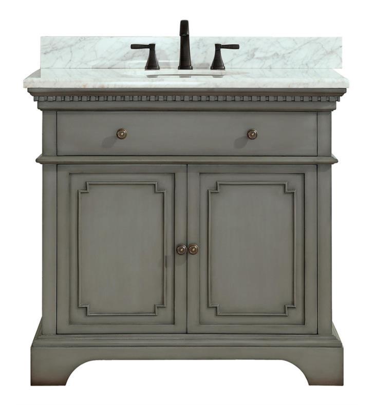 Avanity Hastings Vs36 Fg C Hastings 37 Inch Free Standing Single Bathroom Vanity Set In French