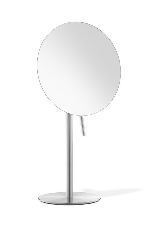 ICO Z40003 XERO 15 INCH COSMETIC MIRROR ZOOM 7X INSTAINLESS STEEL