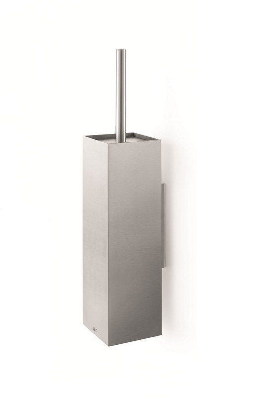 ICO Z40018 XERO 21 INCH TOILET BRUSH WALL MOUNTED IN BRUSHED NICKEL