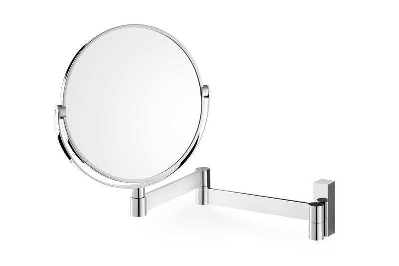ICO Z40045 LINEA 7 INCH  COSMETIC MIRROR SWIVELLING ZOOM  IN CHROME