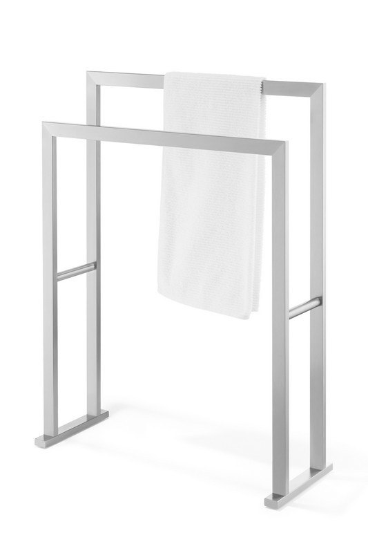ICO Z40394 LINEA 31.5 INCH TOWEL STAND IN BRUSHED NICKEL