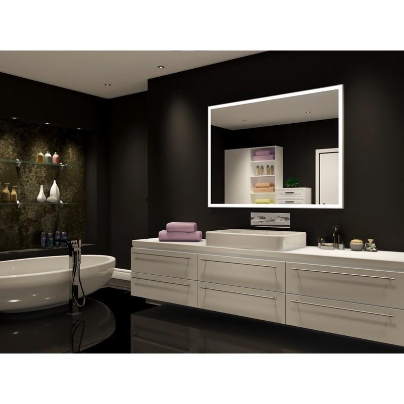 Paris Mirrors Gala60406000d Dimmable 60, 40 X 60 Frameless Mirror
