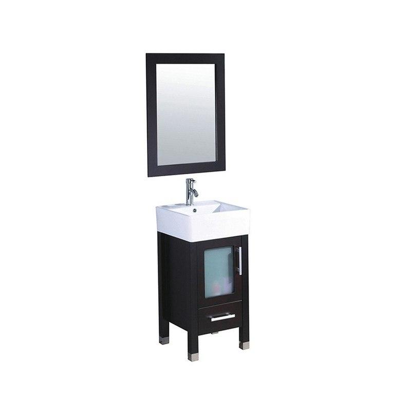 Mtd Mtd 8137e Malta 18 Inch Single Sink Bathroom Vanity In