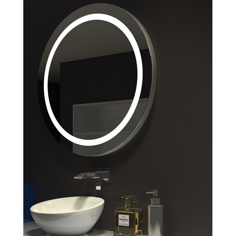 Paris Mirrors Harr36366000d Dimmable 36 X 36 Inch Harmony Round Illuminated Mirror Paris Mirrors Harr36363000d