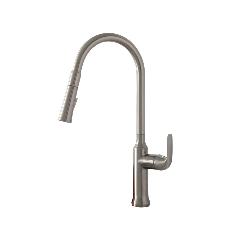 STYLISH K-137S PULL DOWN KITCHEN FAUCET IN BRUSHED NICKEL