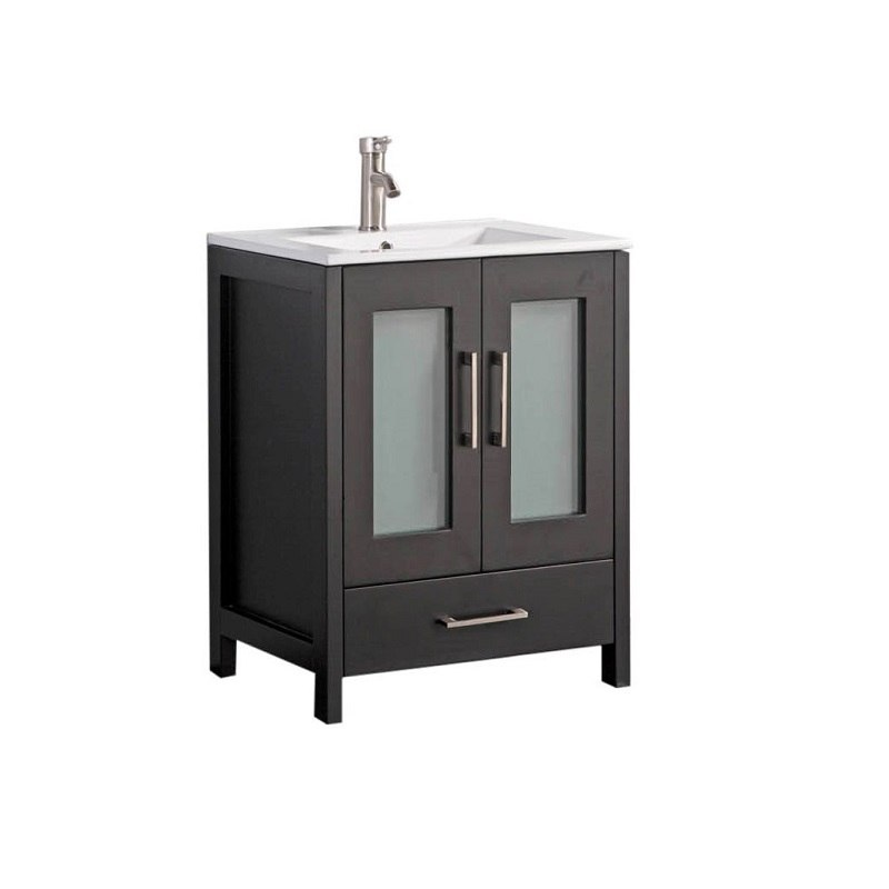 Astonishing Mtd Mtd 1030E N Arezzo 30 Inch Single Sink Modern Bathroom Vanity In Espresso Download Free Architecture Designs Grimeyleaguecom