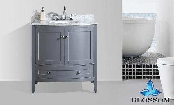 BLOSSOM 002 36 15 NM ROME 36 INCH VANITY IN CHARCOAL GREY