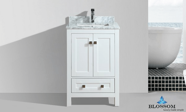 Blossom 003 24 01 Nm Dubai Inch Vanity In White