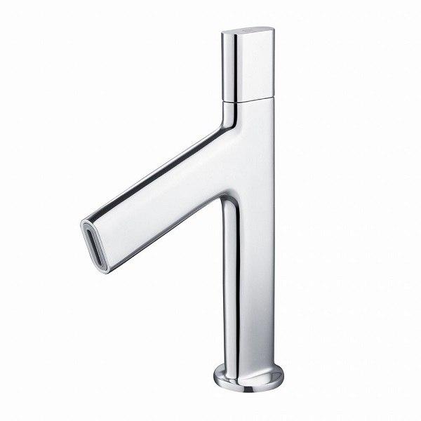 Kraus KEF-15701 Ino Single Handle Basin Bathroom Faucet with Grid Drain