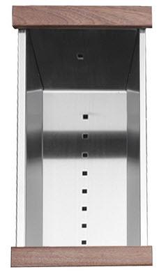 Ruvati RVA1318 Sink Colander 18 inch Stainless Steel