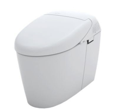 TOTO Neorest500H Tankless MS952CUMG Dual Flush Toilet with Integrated Washlet Seat, 1.0 GPF and 0.8 GPF